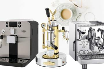 Verschillende soorten koffiezetapparaten