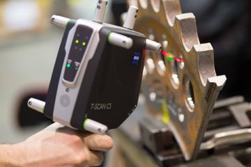 Lo scanner laser TScan di QFP per il settore stampi