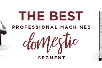 De bedste professionelle maskiner til det indenlandske segment